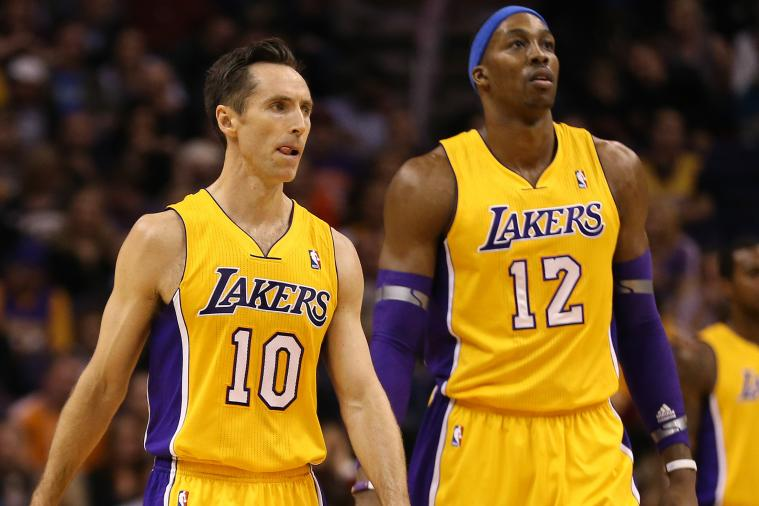 Can Steve Nash and Dwight Howard Pick-and-Roll Chemistry Save Lakers' Season?