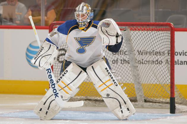 Blues Assign Jake Allen to AHL