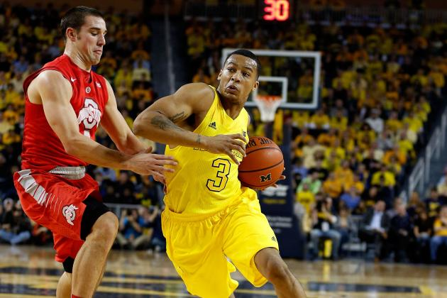 Michigan's Trey Burke Having Historic Offensive Season, 13 Points Shy of 1,000