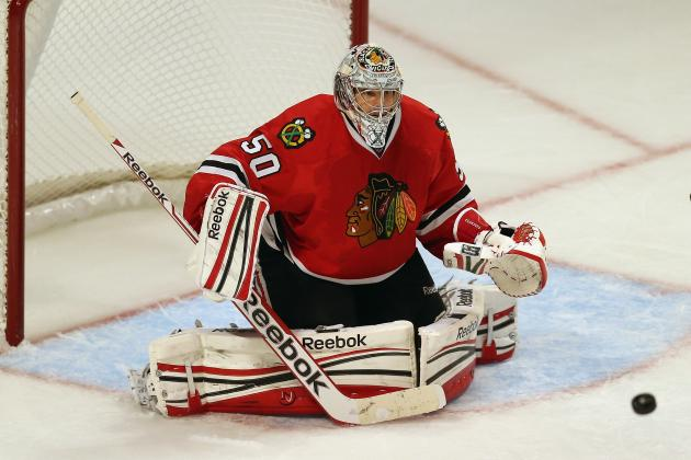 Hossa, Seabrook, Crawford Return to Practice