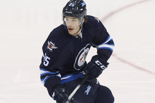 Jets' Redmond Suffers 'gory' Skate Cut During Practice, Leaves Via Ambulance