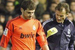 Casillas: I'll Be Back in a Month