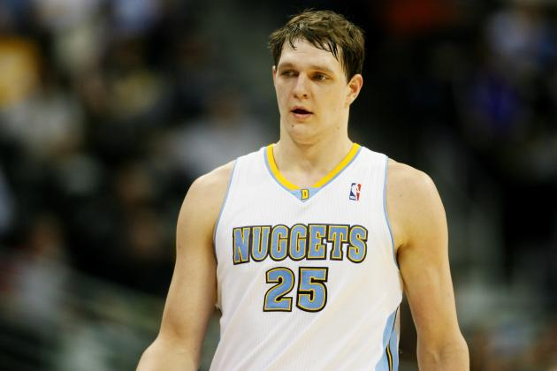Timofey Mozgov Unlikely to Be Moved