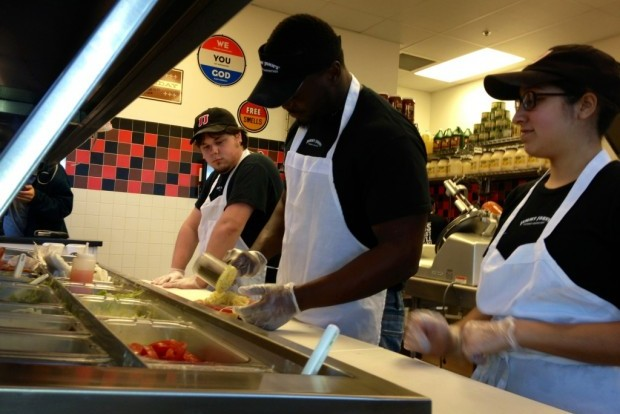 Rams Running Back Spends Offseason Making Sandwiches for Minimum Wage