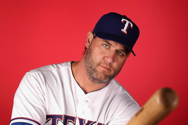 Texas Rangers DH Lance Berkman Has Mild Calf Strain