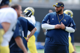 Report: Oklahoma Has Interest in Michigan DL Coach Jerry Montgomery