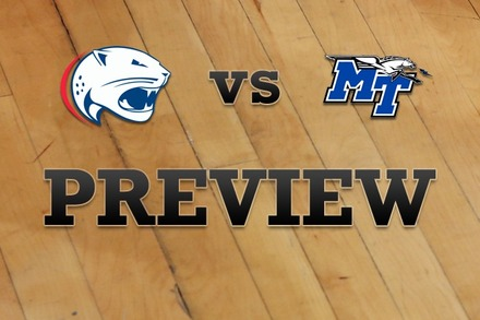 South Alabama vs. Middle Tenn State: Full Game Preview