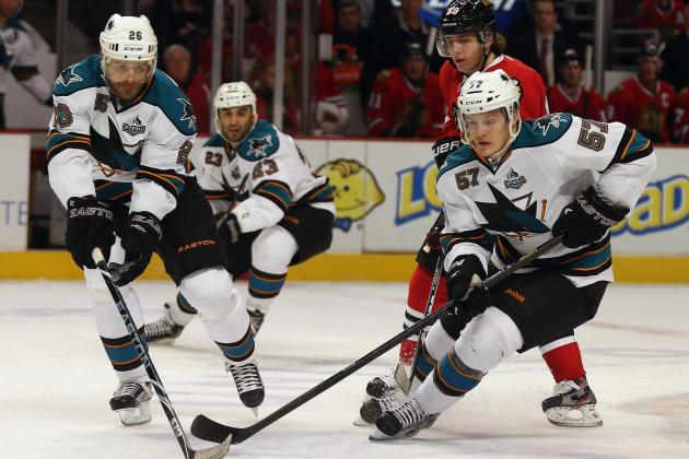 Sharks-Blackhawks Preview