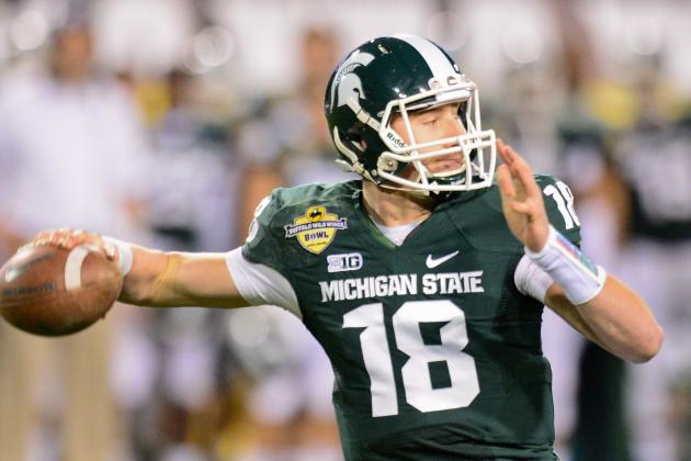 Spring QB Battles: Michigan State