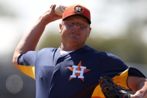 Roger Clemens Takes the Mound in Florida