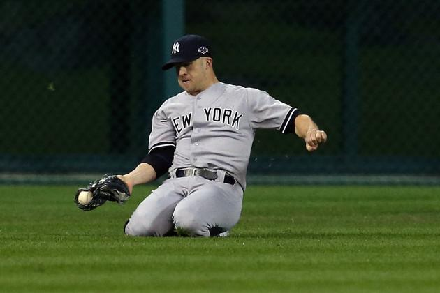 Yankees Brett Gardner and Curtis Granderson Will Flip Positions for Camp