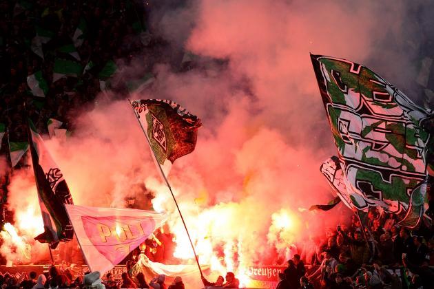 Report: Monchengladbach Fans Stabbed