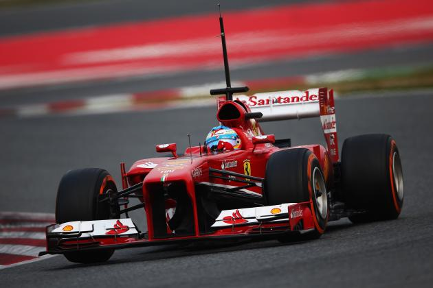 Barcelona Day 3: Alonso on Top at the End of His Three Day Stint