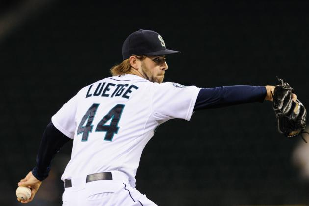 Mariners Pitcher Lucas Luetge Is 'Cool, Calm, Collected'