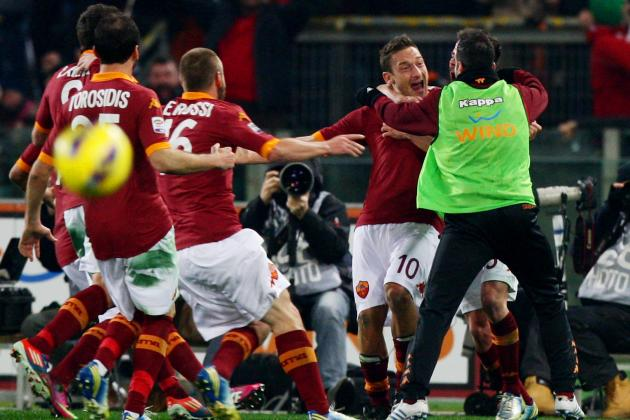 Surprising Statistics About Roma This Season: Top Totti and Ghastly Goicoechea
