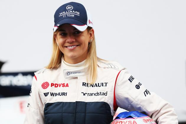 Meet the Only Female Behind the Wheel in F1: Williams Test Driver Wolff