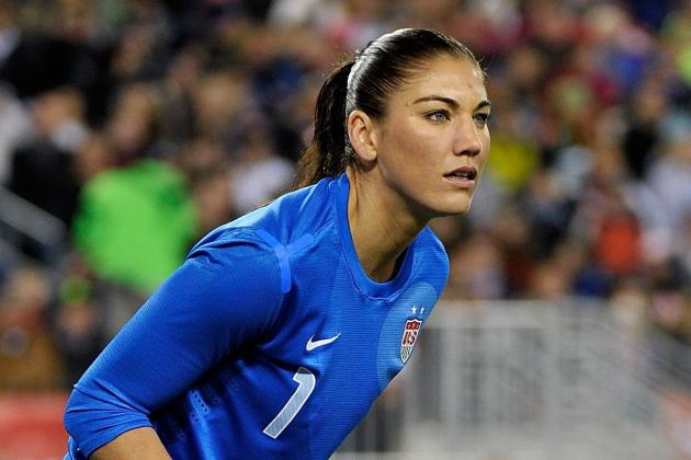 Hope Solo May Need Surgery on Right Wrist, Left out of Algarve Cup Roster