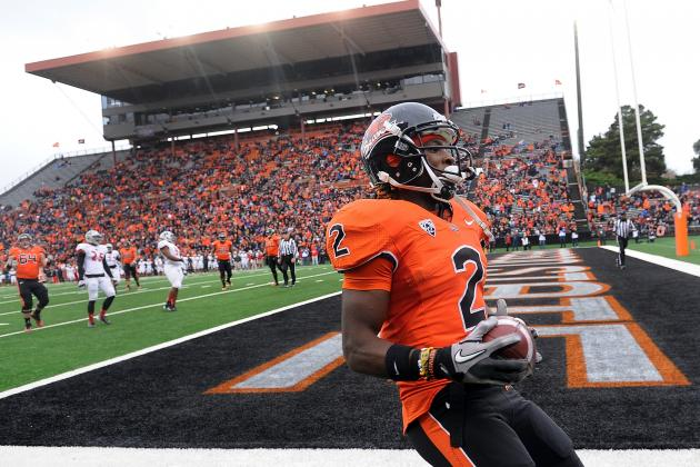Two Beavers Get Set for NFL Scouting Combine