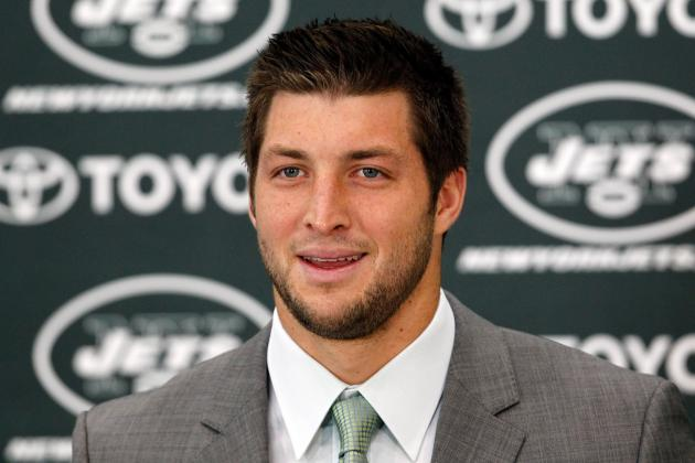 Tim Tebow: Jets Won't Find Trade Partner For Controversial QB