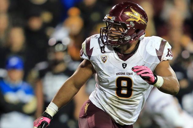 ASU LB Brandon Magee Not Worried About Health Going into NFL Combine