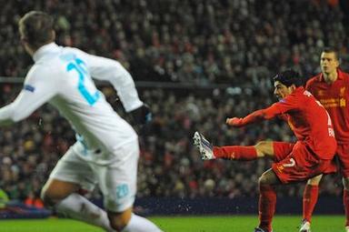 Liverpool 3-1 Zenit (agg 3-3)