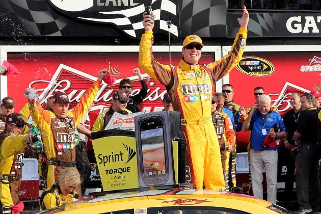 CUP: Kyle Busch Wins Second Duel Race