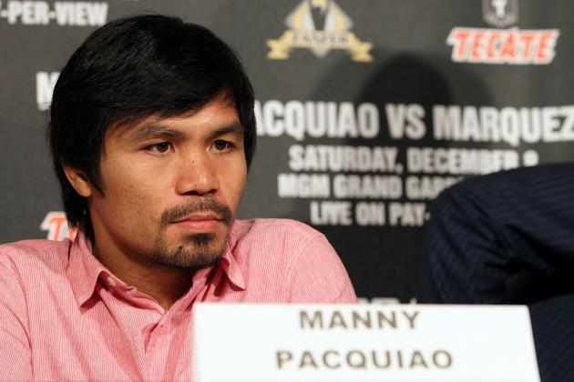 Manny Pacquiao's Next Fight Is a Must-Win for Former Champ