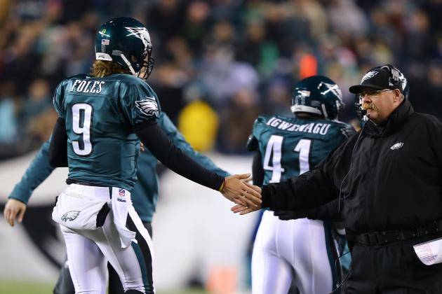 Eagles Want to Keep Nick Foles; Andy Reid: 'He's Not Available'
