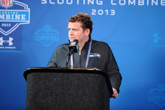 John Schneider Doesn't See the Seahawks Necessarily Using the Franchise Tag