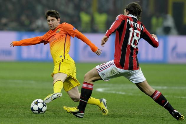 AC Milan vs. Barcelona: Analyzing Improvements Barca Must Make Before Second Leg