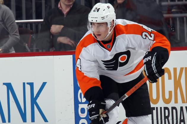 Flyers' Read Sidelined for 6 Weeks