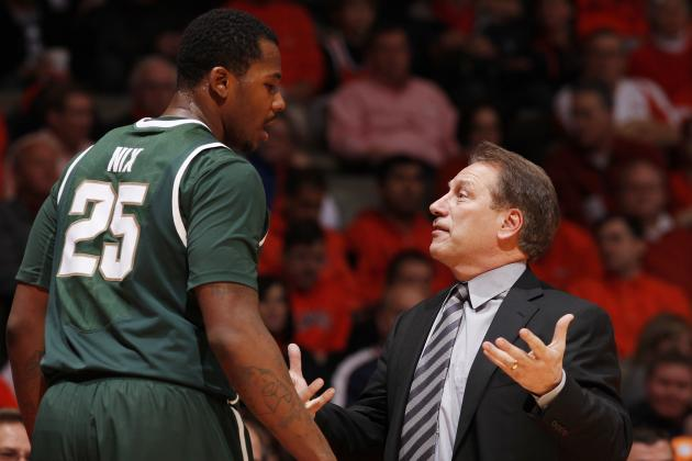 Michigan State's Tom Izzo, Mark Hollis stick up for Derrick Nix
