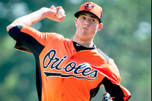 Kevin Gausman Throws Perfect Four-out Inning in Orioles Intrasquad Game
