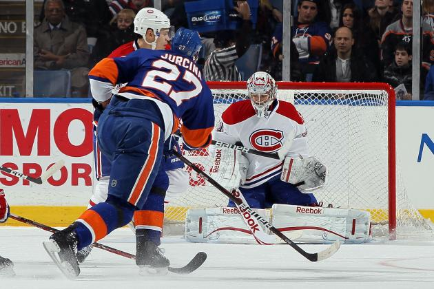 New York Islanders vs. Montreal Canadiens: GameCast