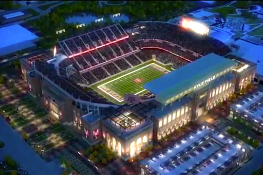 Texas A&M Reveals First Look at Kyle Field Renovations