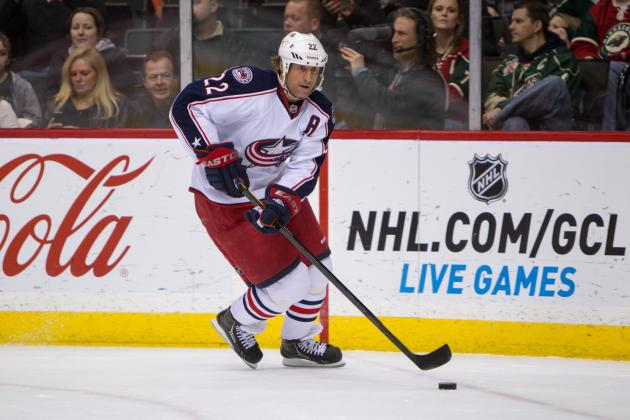 Red Wings Lose 5th Straight in 3-2 Loss to Blue Jackets