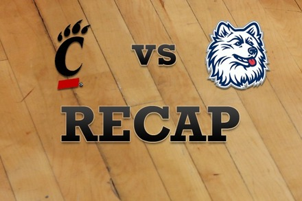 Cincinnati vs. Connecticut: Recap, Stats, and Box Score