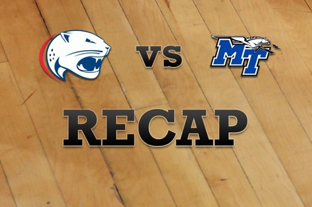 South Alabama vs. Middle Tenn State: Recap, Stats, and Box Score