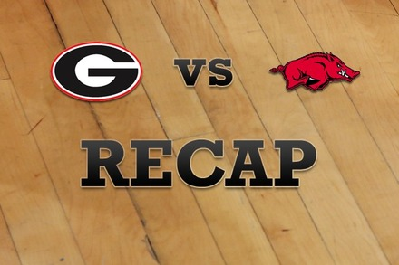 Georgia vs. Arkansas: Recap, Stats, and Box Score
