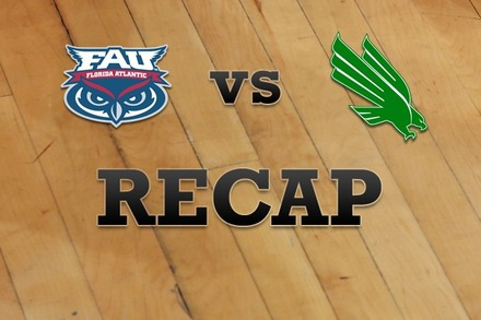 Florida Atlantic vs. North Texas: Recap, Stats, and Box Score