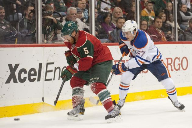 Minnesota Wild vs. Edmonton Oilers: GameCast