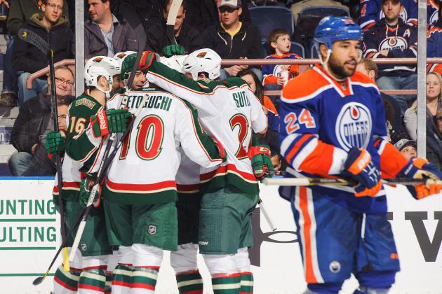 Wild 3, Oilers 1