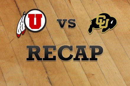 Utah vs. Colorado: Recap, Stats, and Box Score