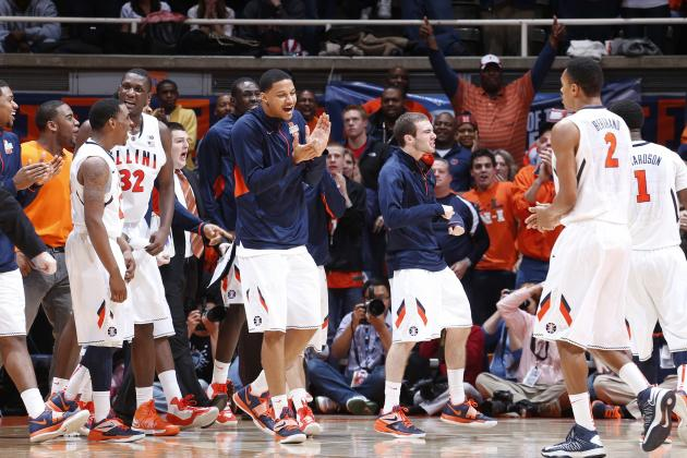Illinois mens basketball holds off last-place Penn State 64-59