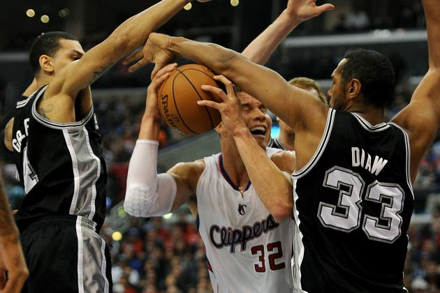 Tony Parker & Co. Drive Point Home Against Clippers