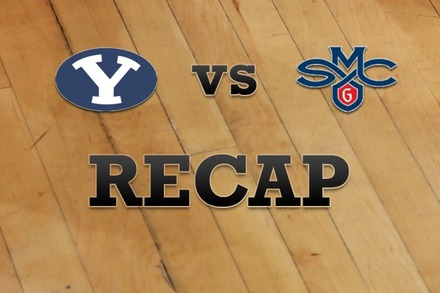 Brigham Young vs. Saint Mary's: Recap, Stats, and Box Score