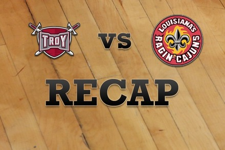 Troy vs. LA Lafayette: Recap, Stats, and Box Score
