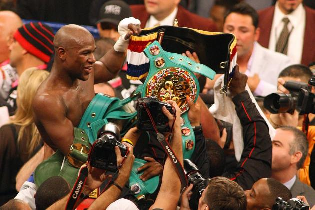 Mayweather Hyped on Showtime Mega-Deal; Won't Overlook Guerrero