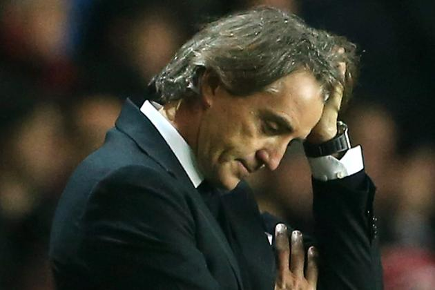 Roberto Mancini Loses Cool When Asked About Man City Future