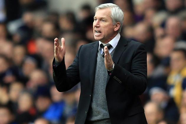 Alan Pardew Urges His Players to Forget Their Europa League Heroics